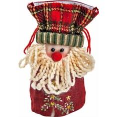 Мешок для подарков Дед Мороз Mister Christmas
