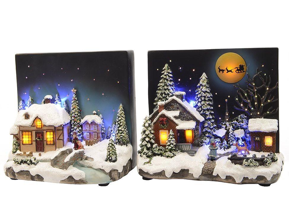 Светящаяся миниатюра Рождественская открытка
