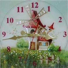 Часы с кристаллами Swarovski Сказочный мир