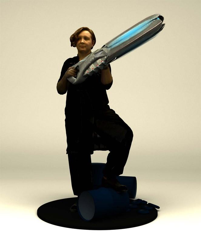 Статуэтка 3DYA с фантастическими предметами (14 см)