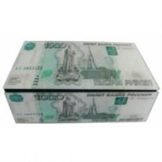 Шкатулка для денег 1000 рублей