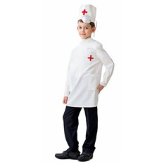 Карнавальный костюм Доктор (большой), 6-10 лет