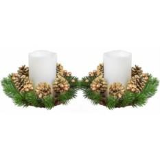 Набор декоративных свечей