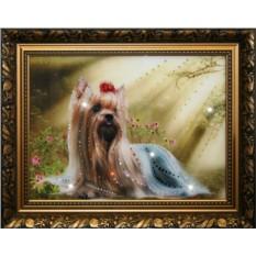Картина с кристаллами Swarovski Йорк
