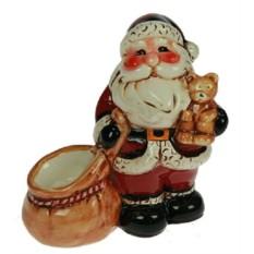 Подсвечник Дед Мороз с подарками