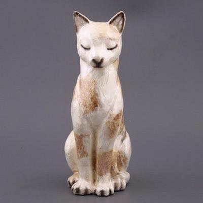 Фигурка «Кошка белая»
