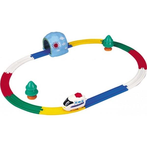Железная дорога «Мой первый паровозик»