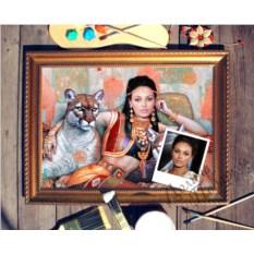 Портрет по фото Восточная принцесса