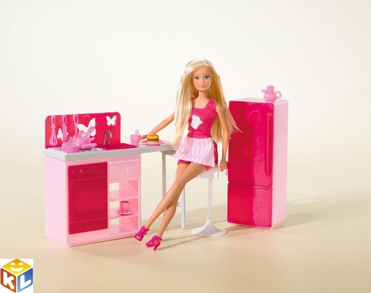 Кукла Штеффи на кухне с аксессуарами, 29 см, Simba