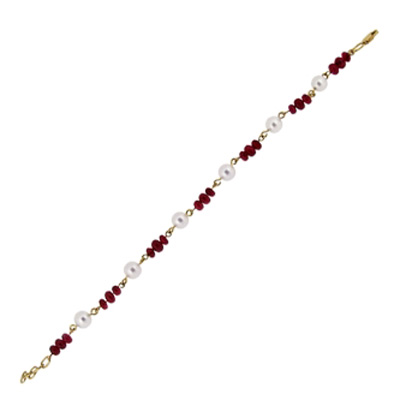 Браслеты с рубинами TTF-Luxury
