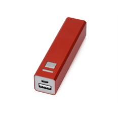 Красное портативное зарядное устройство Спейс