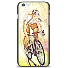 Чехол на телефон Велосипедистка