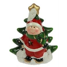 Новогодний сувенир Мальчик с ёлочкой