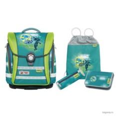 Зеленый школьный ранец McNeill Ergo Light Compact