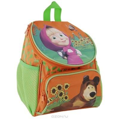 Рюкзак оранжевый Маша и Медведь