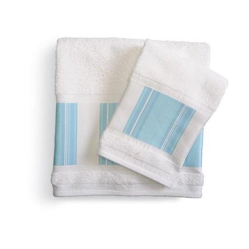 Полотенце банное Stripe & Floral