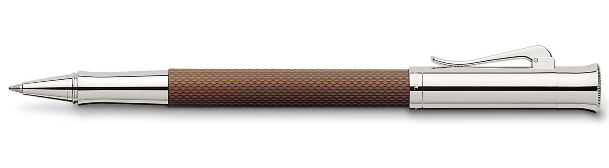 Ручка-роллер Graf von Faber-Castell Guilloche Cognac