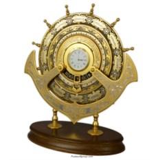 Календарь-часы Штурвал