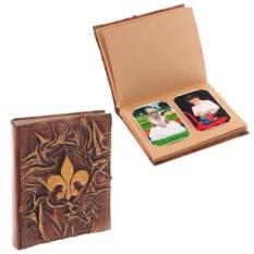 Фотоальбом с картонными листами Королевская лилия