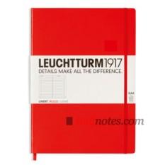 Записная книжка Master Slim Notebook Red от Leuchtturm1917