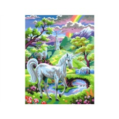 Картины по номерам KSG «Единорог»