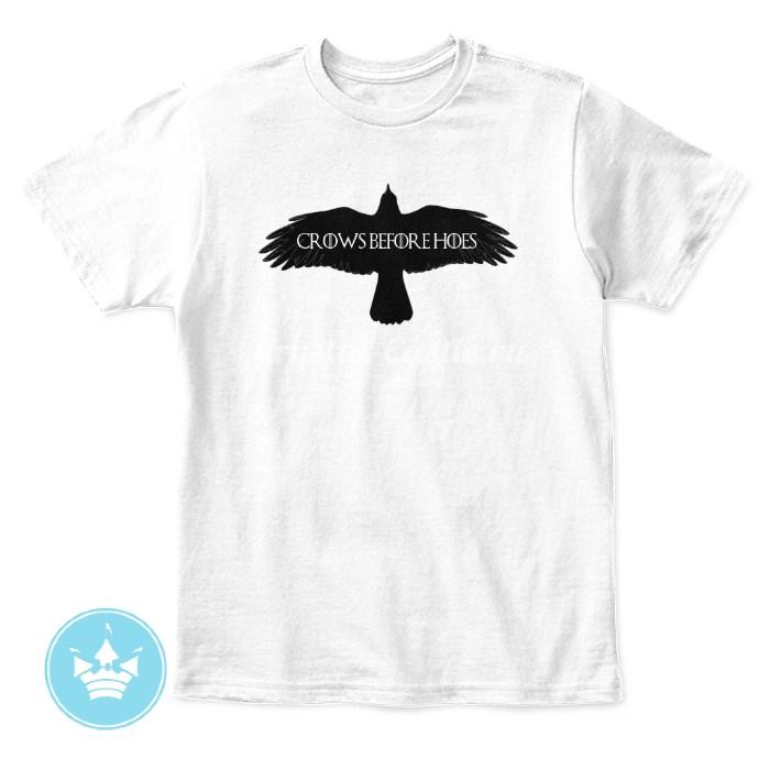 Детская футболка Crows Before Hoes
