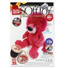 Набор для творчества Plush Heart Игрушка. Розовый лев»