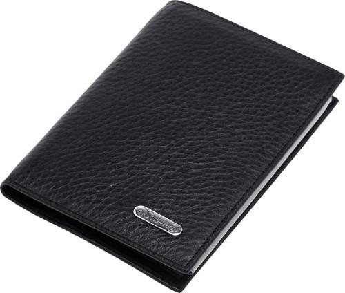 Бумажник водителя S.Quire, черная кожа