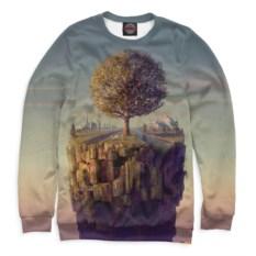Свитшот с деревом Psychedelic