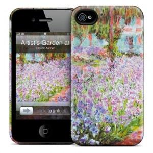 Чехол для iPhone 4/4S Gelaskins Artist's Garden at Giverny