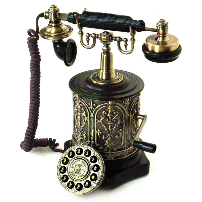 Телефонный ретро-аппарат «Шарманка»