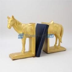 Держатель для книг Золотая лошадь