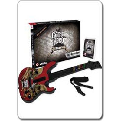 Guitar Hero Metallica (игра + гитара)