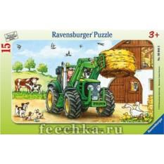 Пазл Трактор от Ravensburger