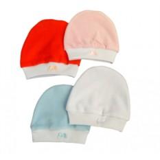 Велюровая шапочка для новорожденных