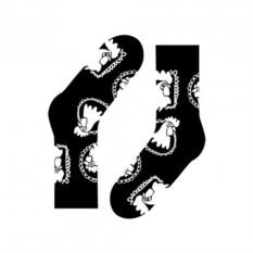 Носки Cocks. Family portrait (цвет — черный)