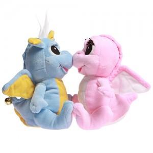 Говорящая игрушка «Влюбленные дракончики»