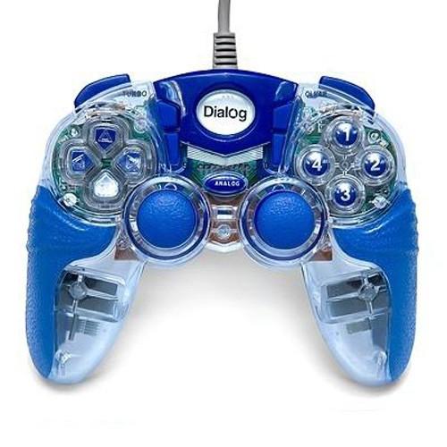 Геймпад Dialog GP-A15EL синий