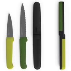 Компактный набор ножей Twin Slice™, зеленый