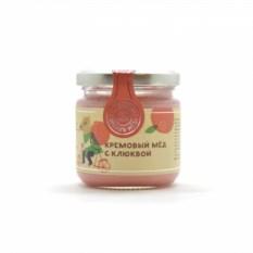 Крем-мёд с клюквой