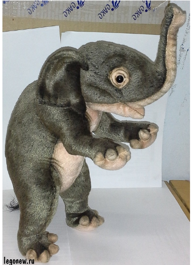 Мягкая игрушка Цирковой слоненок (Hansa)