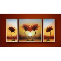 Композиция с кристаллами Swarovski Природа любви