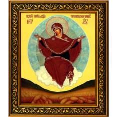 Икона Божьей Матери на холсте Спорительница хлебов