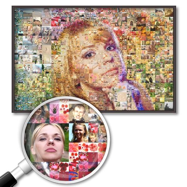 Фотомозаика из ваших фото