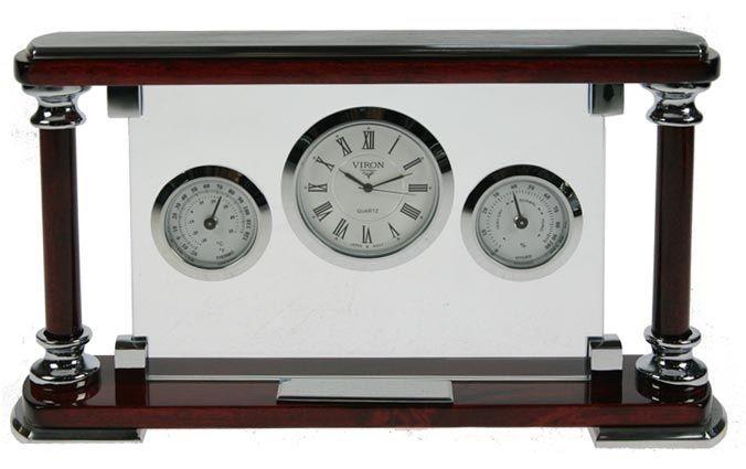 Часы настольные VIRON 23х13х5 см.