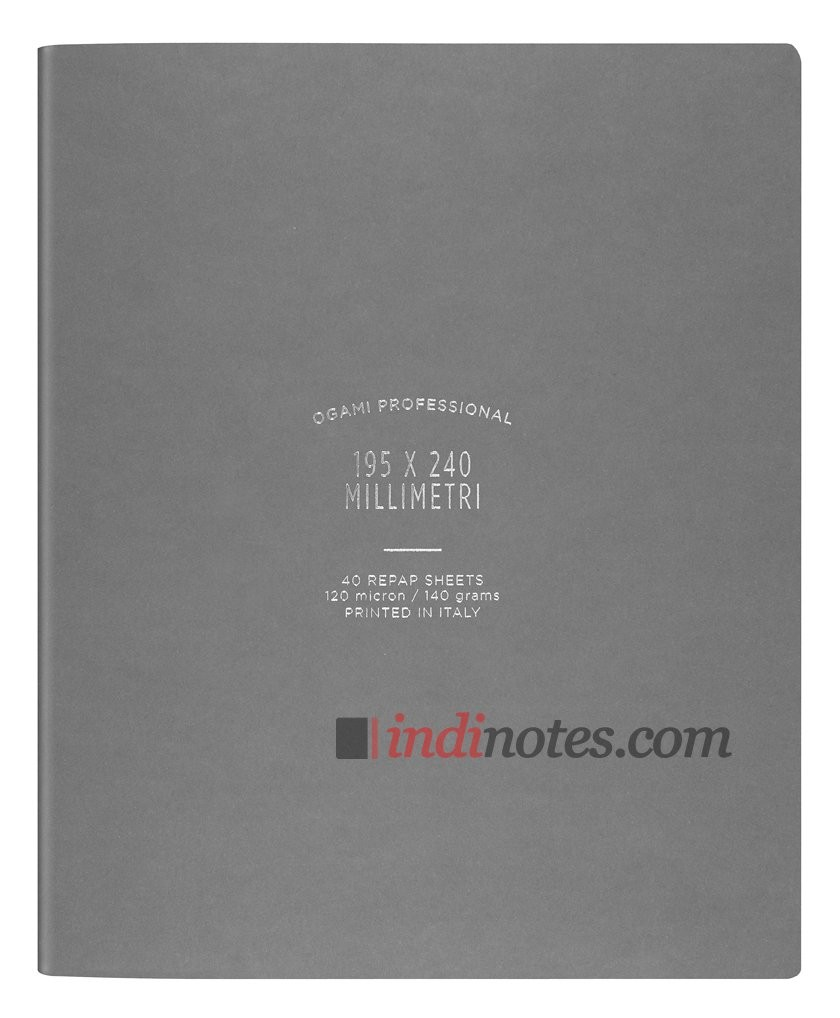 Записная книжка Ogami Professional Large Grey Softcover
