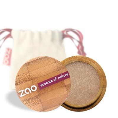 Перламутровые тени для век 105 (золотой песок) zao