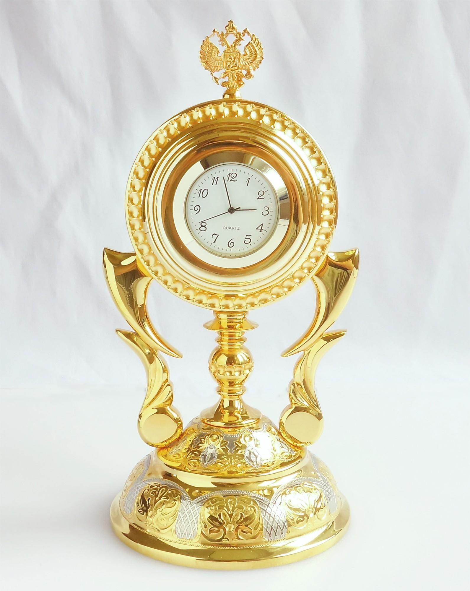 Позолоченные часы Императорские