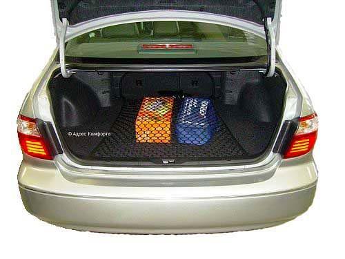 Автомобильная сетка напольная в багажник Премиум