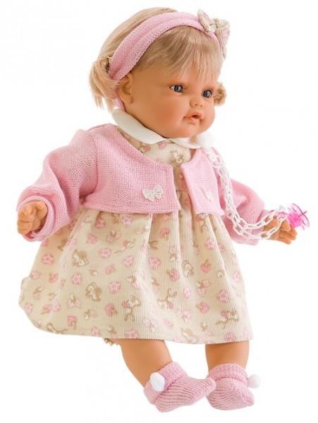 Озвученная кукла-малыш Клара
